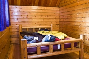 2 Room Camping Cabin Full Size Bed