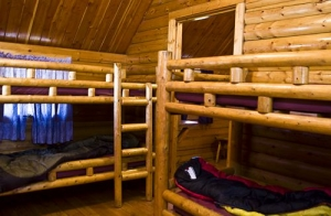 2 Room Camping Cabin Bunk Beds