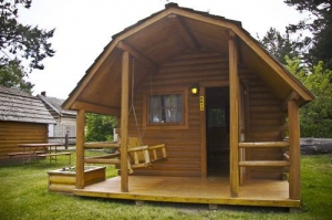 One Room Camping Cabin