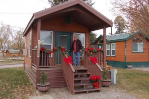 Deluxe Cabin for the Holidays