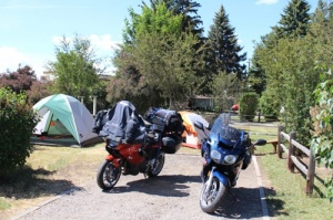 Motorcycle  Tenting