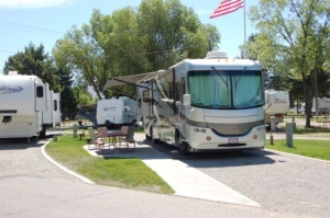 Deluxe RV with  Patio