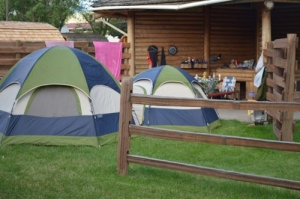 Tent Village Tent Site & Photos of Campground Tent Sites - Missoula KOA