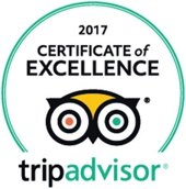 2017 Tripadvisor Certificate of Excellence