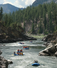 Scenic Rafting on the Gorge