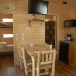 Big Bear Deluxe Cabin Kitchen Area