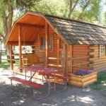 Camping Cabin Accommodations