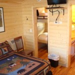Inside Little Bear Deluxe Cabin Studio