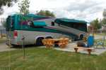 Premium RV sites at Missoula KOA