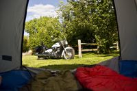 Tenting and Motor Cycles
