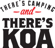 There's Camping and There's KOA