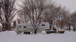 KOA Winter Camping