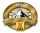 KOA Presidents Award 2017