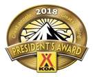 KOA Presidents Award 2018