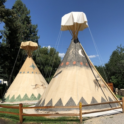 Teepees what fun